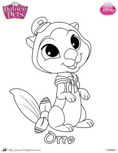 mr chow halloween coloring page from palace pets skgaleana